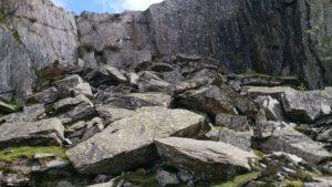 slate quarry at Tilberthwaite