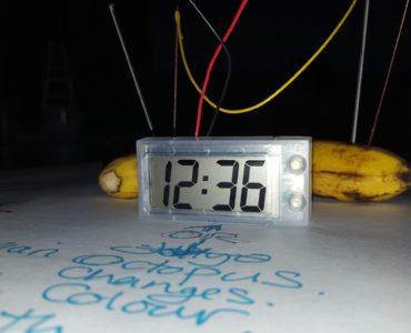 The banana clock at the heart of the Future Machine