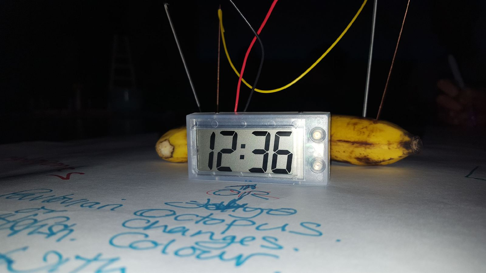The banana clock at the heart of the Future Machine