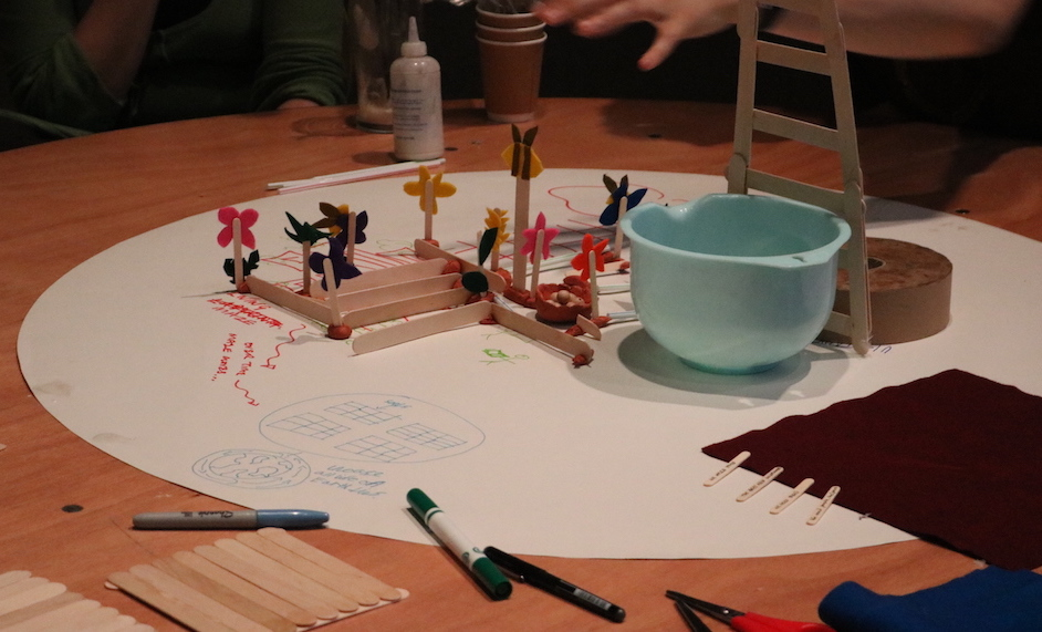 Prototype designs of a Future Machine from a workshop at Nottingham Contemporary