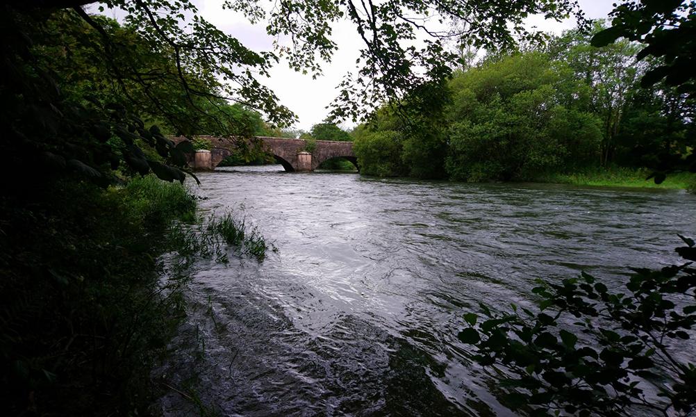 Bridge over the River Leven at Haverthwaite